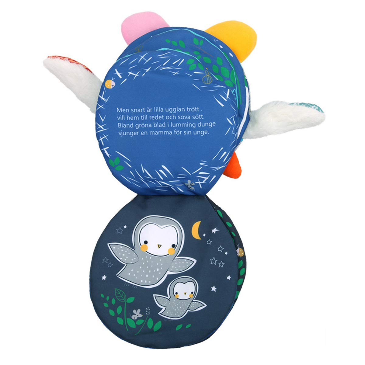 Dog 1 Year Old Early Educational Toys Activity Center Development Book Perfect Shower Gift for Toddlers Hosim Non-Toxic Soft Baby Fabric Cloth Books Children Infants and Kids Babies