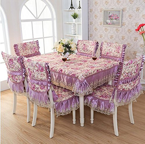 Europ che hochwertigem Stoff, Sitzkissen, Tischkissen, Sitzbezug-Sets,15020cm   Rosa And lila