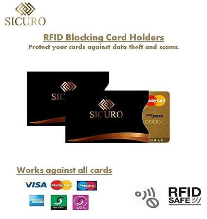 Bolsa de piel con bloqueo de señal RFID (grande y mediana) + ...