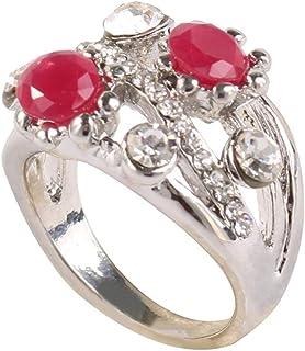 Pteng, Anello per Matrimonio, Anello Delicato, Accessorio Unico per Gioielli, da Donna, Elegante, Boho, con Glitter