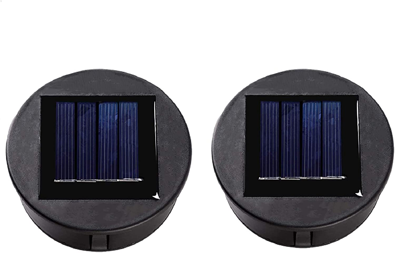 ZNYCYE 2 Pack Solar Light Replacement Top for Outdoor Hanging Lanterns