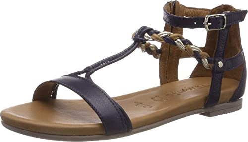Tamaris Damen Sandalen, Frauen Riemchensandale Schuhe
