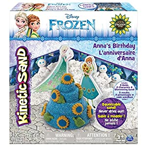 Kinetic Sand - Disney's Frozen - Anna's Birthday - 61 3Ulb563L - Kinetic Sand – Disney's Frozen – Anna's Birthday