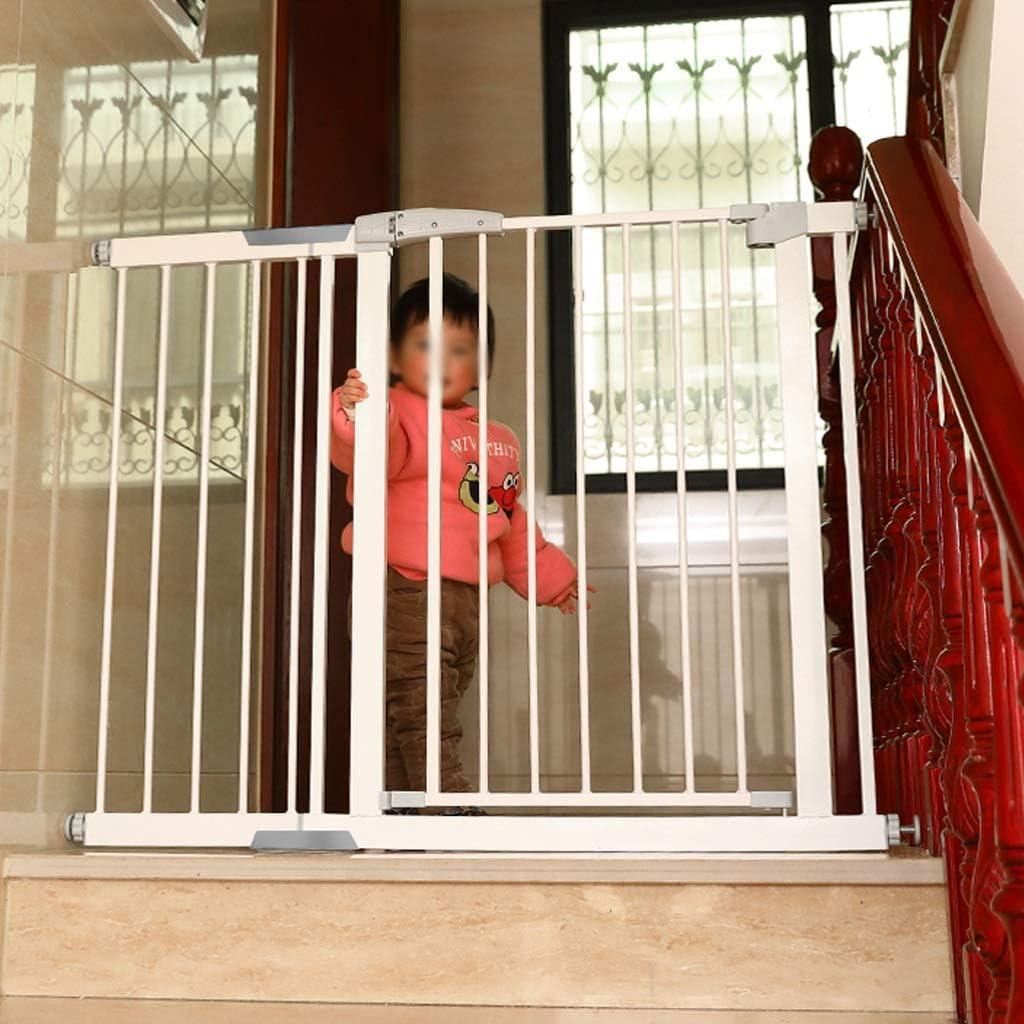 育児 ベビーゲート 階段出入り口、猫/犬ドア付圧力マウントメタルペットゲートのための赤ちゃんの安全ゲイツ ベビーフェンス (Size : 222cm-229cm)