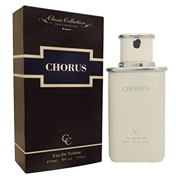 Chorus Kouros Perfume For Him 3.3 oz Eau de Toilette (Imitation)