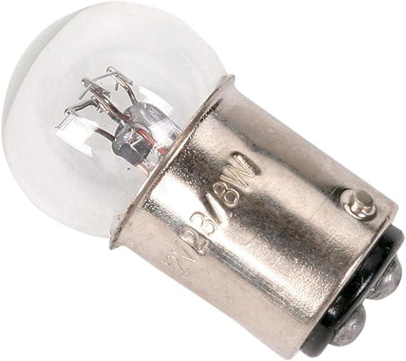 K/&S DOT Turn Signal Replacement Bulb Dual Filament 12V 23//8W Amber