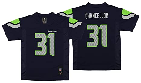 Image Unavailable. Image not available for. Color  NEW Seattle Seahawks KAM  CHANCELLOR  31 Navy Blue Youth Boys NFL Football Jersey ... caf39ddbe