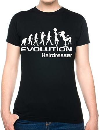 Amazon.com: print4ucouk Mujer Evolución de peluquería ...