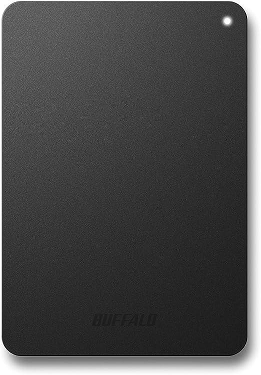 BUFFALO ミニステーション ターボPC EX2 Plus対応 耐衝撃&USB3.0ポータブルHDD 2TB ブラック HD-PNF2.0U3-GBC