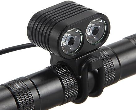 8000Lumen 2x XM-L2 LED Cycling light Headlight Headlamp Bike Front Bicycle Bike