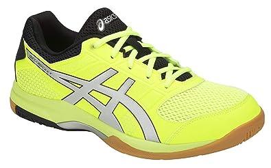 9ca22c91e Asics Gel-Rocket 8 Badminton Non-Marking Indoor Court Shoes - Flash Yellow