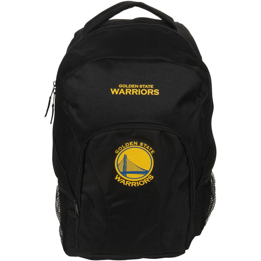 Golden State Warriors draftday Back Pack zaino, black, Taglia unica