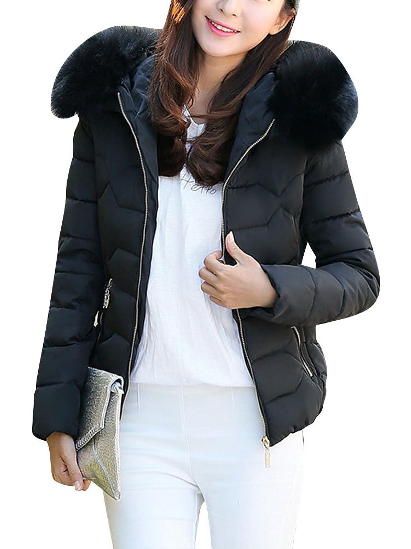80%OFF LaoZan Damen Steppjacke Winter Jacke Warm Mantel