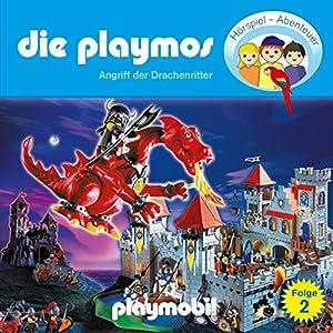 Angriff der Drachenritter (Die Playmos 2) Hörspiel