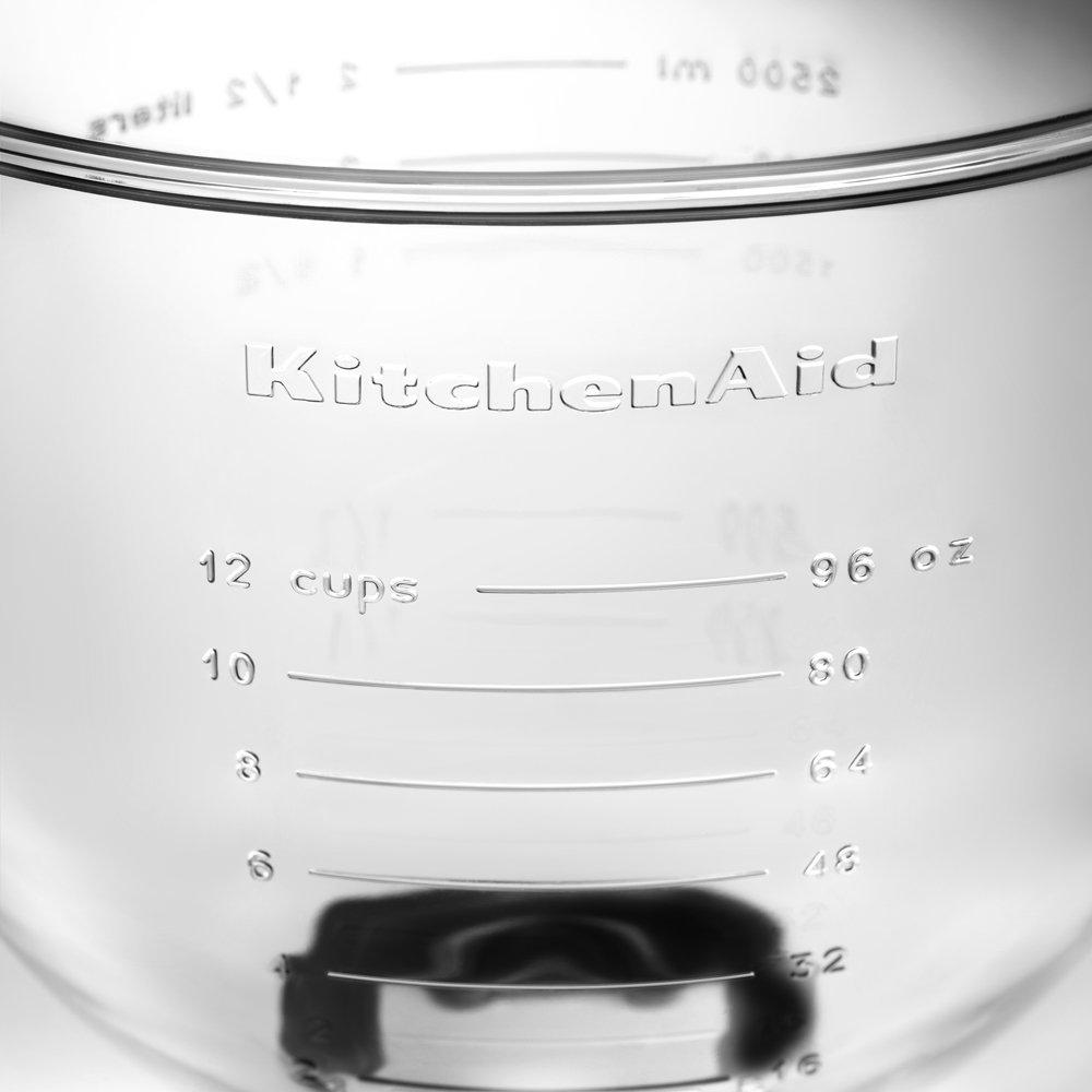 KitchenAid K5GB 5-Qt. Tilt-Head Glass Bowl with Measurement Markings & Lid by KitchenAid (Image #4)
