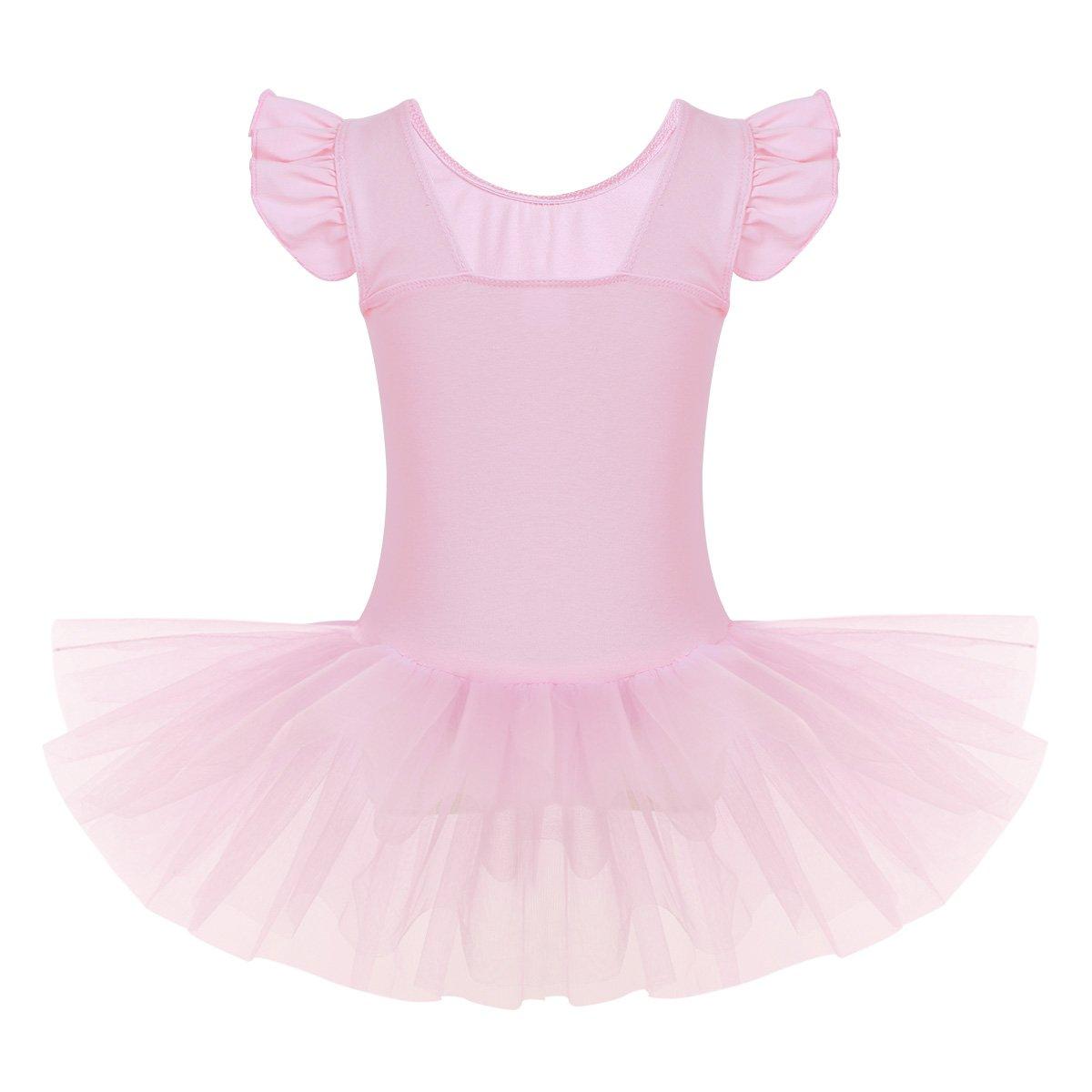 587339b3c10e iiniim Girls Tutu Ballet Leotards Dance Dress Little Girls Gymnastics  Ballerina Fancy Fairy Costume