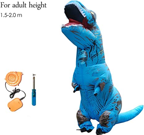 Dinosaurio Inflable T Rex Traje Jurassic World Park Explosión ...