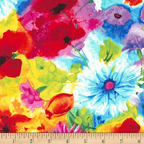 Timeless Treasures Ambrosia Mixed Floral Multi Fabric By The (Ambrosia Fabric)