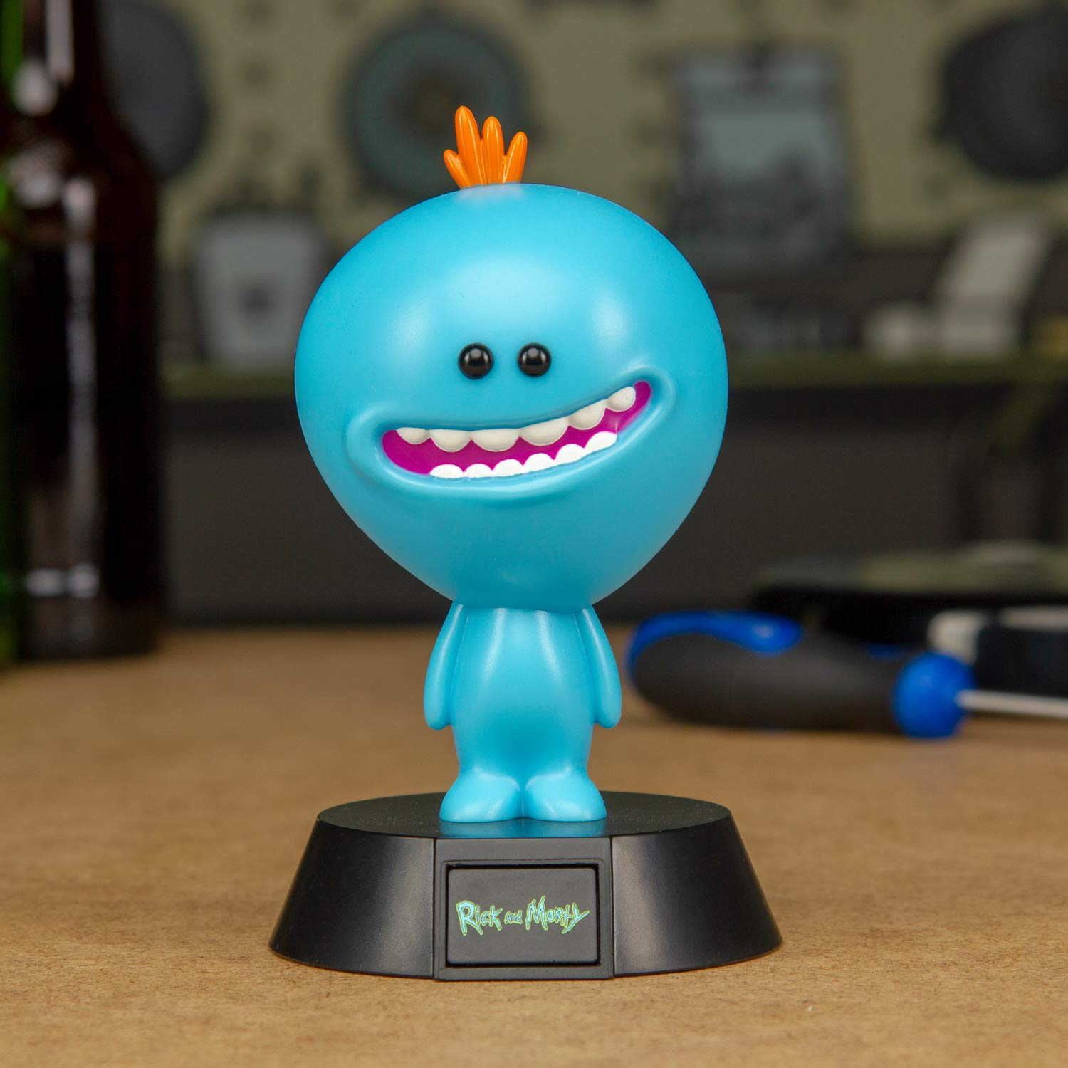 Rick And Morty Mr Meeseeks 3d Character Light