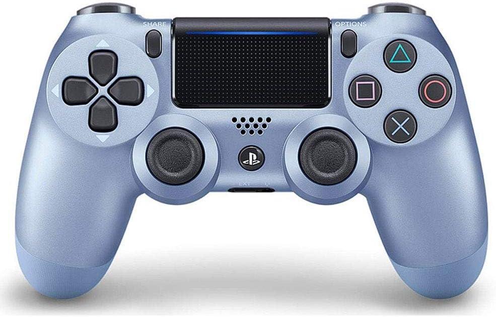 SXHX Controlador inalámbrico DualShock 4 para Playstation 4-Titaniumblue