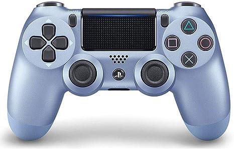 SXHX Controlador inalámbrico DualShock 4 para Playstation 4-Titaniumblue: Amazon.es: Electrónica