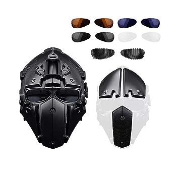 Casco, máscara de Casco de equitación al Aire Libre Casco táctico de Casco de Baotou