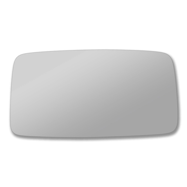 v/éritable verre porte Stick On Miroir de remplacement c/ôt/é passager Quick Fix Argent # Po91 c/ôt/é gauche R/étroviseur Po911 73//89-l /_ C