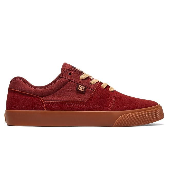 DC Shoes Tonik Sneakers Skateboardschuhe Herren Damen Unisex Erwachsene Dunkelrot