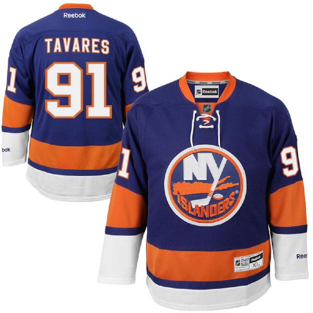 Amazon.com   John Tavares New York Islanders  91 NHL Youth Home Premier  Stitched Jersey (Youth S M)   Sports   Outdoors b9079fecc