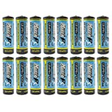 (16-Pack) HyperPS 3.2V LiFePo4 14430 4/5 AA (14 x 43mm) 400mAh Rechargeable Battery for Solar Panel Light, Tooth Brush, Shaver, Flashlight