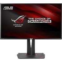 ASUS ROG Swift PG279Q Gaming Monitor 27.0 inch 2K WQHD (2560 x 1440) IPS, overclockable 165Hz, G-SYNC