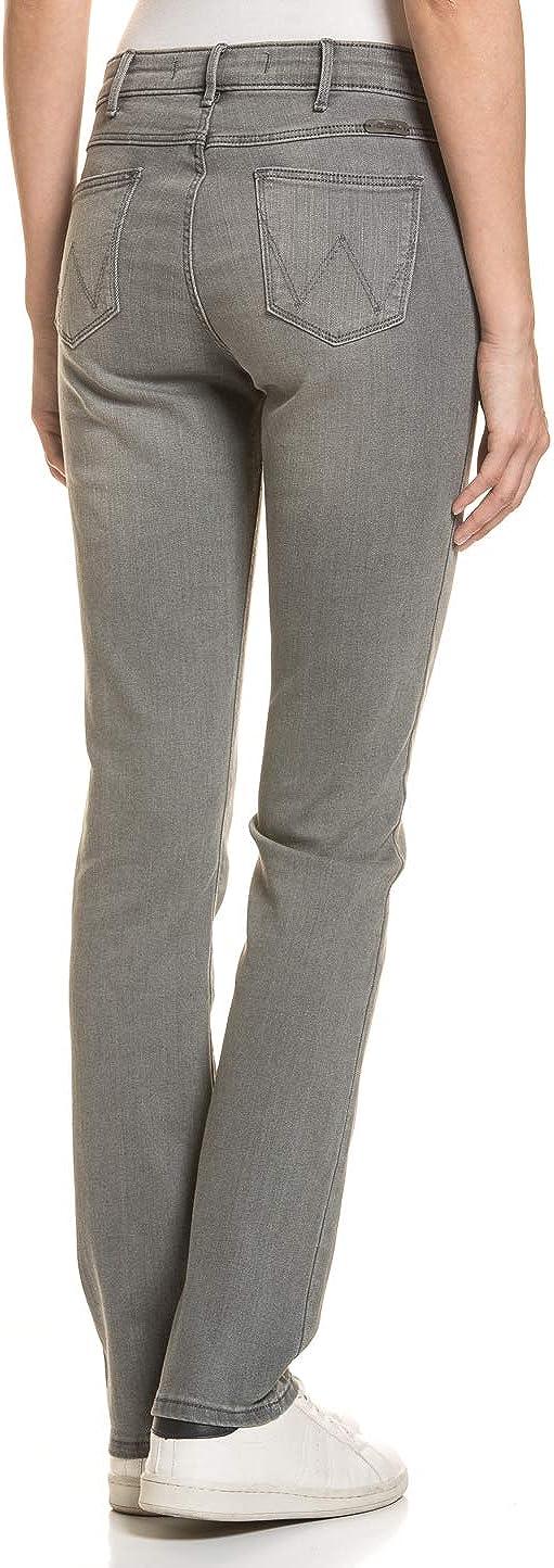 Wrangler Damen Damen Jeans Hose Straight Fit Stretch Komfort