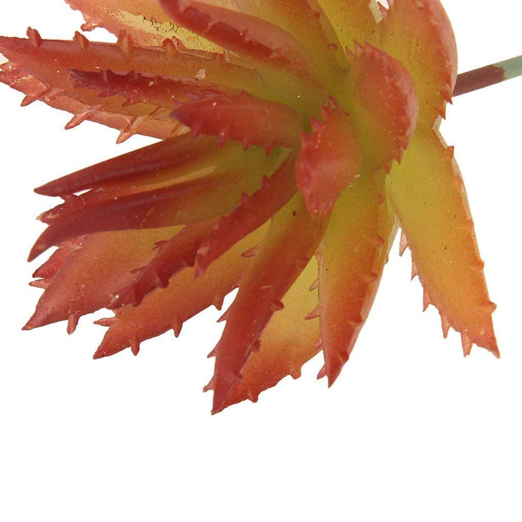 Morelyfish Las Plantas de Aloe Espina Bricolaje Accesorios Bionic Flores Artificiales Decorativas Landscaping suculentas de simulaci/ón