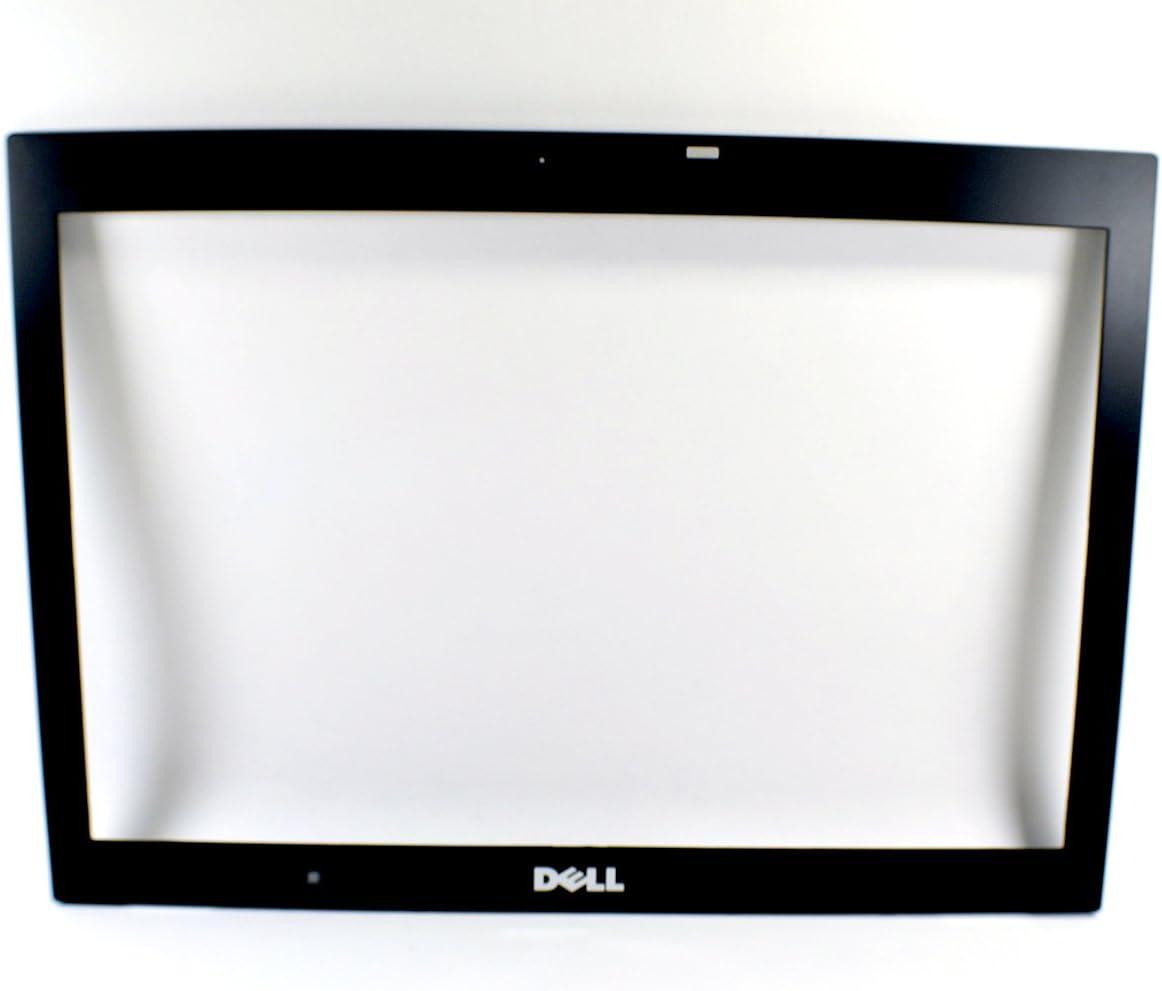 New FX300 Genuine OEM Dell Latitude E6400 Laptop Notebook Black Bezel Cover Screen Display Front Trim Housing Frame W/Light Sensor Microphone Port Hole No Webcam for WXGA Display