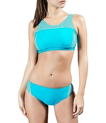 Arcweg Bañadores De Mujer Dos Piezas Conjuntos De Bikinis Deportivo Relleno Trajes De Baño: Amazon.es: Ropa y accesorios