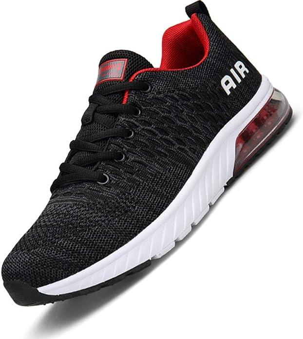 Imagen deAire Zapatillas de Running para Hombre Mujer Zapatos para Correr Gimnasio Deporte Sneakers,Gr.36-46 EU