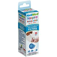 NeilMed Naspira Filter Replacements, Blue, 30 Count