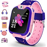 Winnes Reloj Inteligente para Niños, Niña La Musica y 7 Juegos Smart Watch Phone, 2 Vías Llamada Despertador de Cámara…