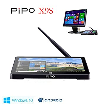 Pipo X9S Mini PC, 8.9 1920 x 1200, Windows 10 & Android 5.1 Dual