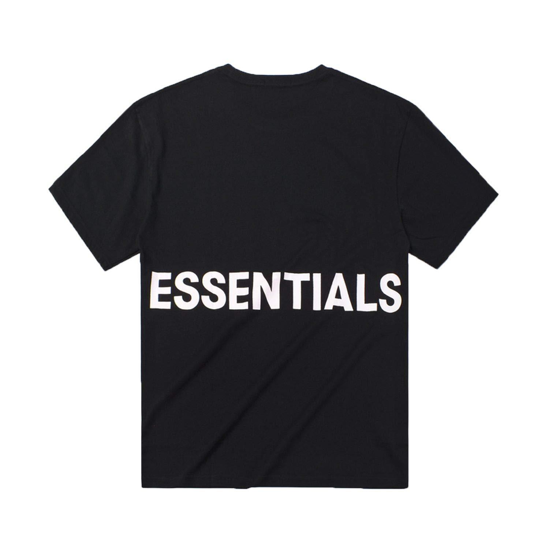 MASCHERANO Men//Women t Shirt Kanye west Fog Loose high Street Essentials Hip hop Cotton Tshirt
