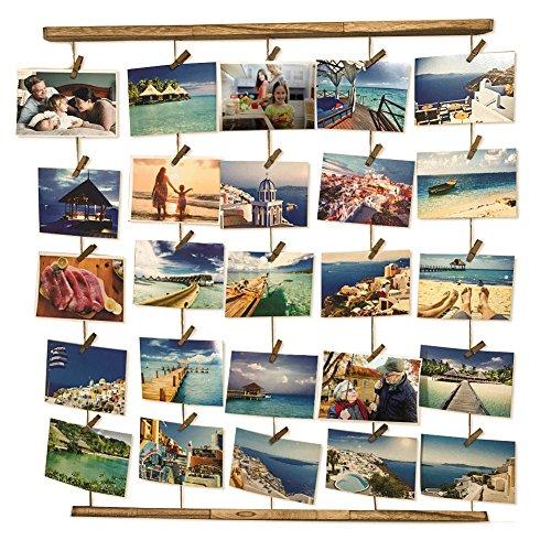 8 Frame Square Portrait and Landscape Design Collage Picture Frame - 5