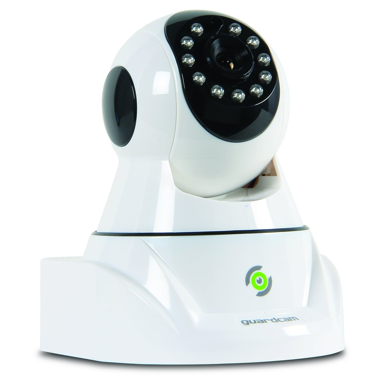 Pilot Electronics Guard Cam Wireless Security, Rotating Lens IP Camera, White (CL-4001)