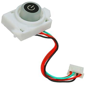 Spares2go Botón de encendido/apagado para la máquina de café DeLonghi Dolce Gusto