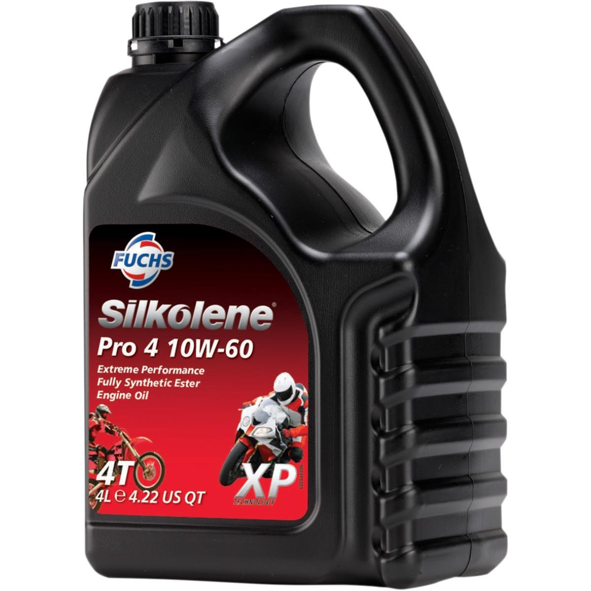 Silkolene Pro 4 XP 10W60 Engine Oil 4L 60098978