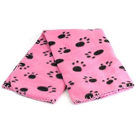 Jooks - Manta de forro polar suave para mascotas, mantas cálidas para cama de mascotas