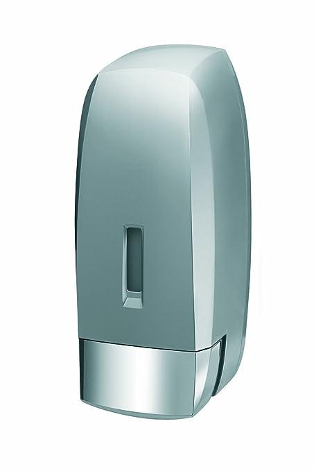 Bisk 02281 Dispensador de Jabón 1000ml, Color Acabado Satinado