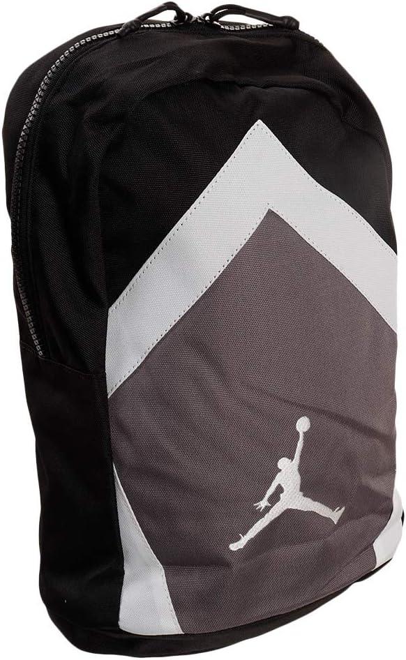 NIKE Jordan Diamond Backpack (Black/Grey/White)