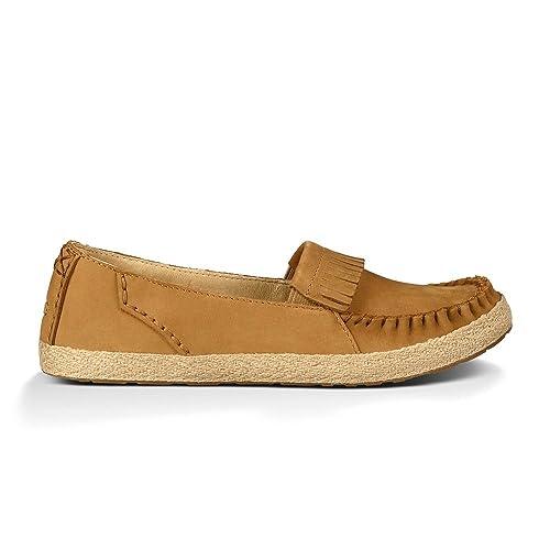 Ugg Australia Marrah Mujer US 9 Beis Mocasín: Amazon.es: Zapatos y complementos