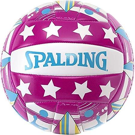Spalding Ball Beachvolley Miami 72-323Z - Balón de voleibol para exterior, color, talla 5 3001598011303