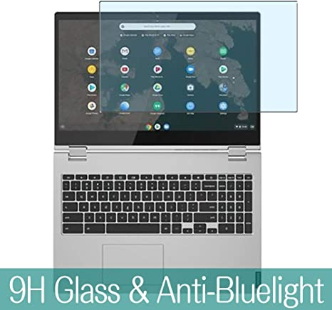 Series 14 Visible Area 9H Protective Screen Film Protectors 14IWL // 14API Synvy Anti Blue Light Tempered Glass Screen Protector for Lenovo Flex 14